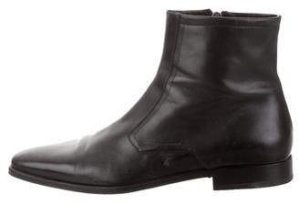Bruno Magli Leather Ankle Boots