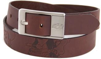 Men's Oklahoma State Cowboys Brandish Leather Belt