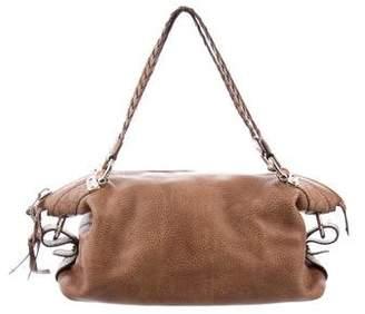10993668fb4a1d Gucci Bamboo Monogram Bag - ShopStyle