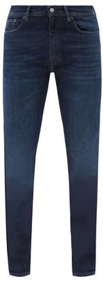 Acne Studios North Slim Fit Jeans - Mens - Dark Blue