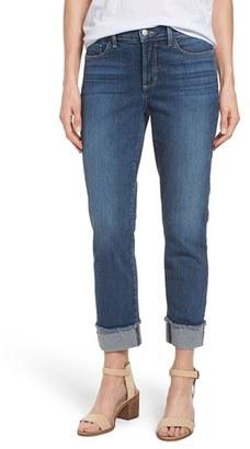 Women's Nydj 'Marnie' Stretch Cuffed Boyfriend Jeans $124 thestylecure.com