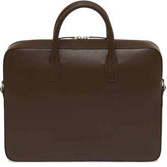 Mansur Gavriel Calf Briefcase - Chocolate