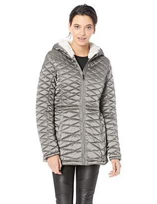 Steve Madden Women's Plus Size Glacier Shield Parka Jacket