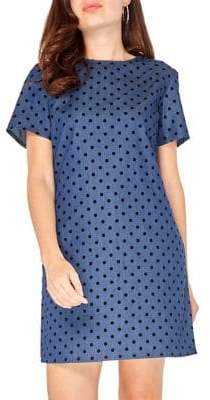 Dorothy Perkins Dotted Cotton Shift Dress
