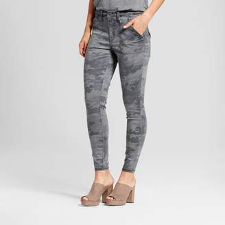 Mossimo Women's Jeans Utility Jeggings - Mossimo Camo $29.99 thestylecure.com