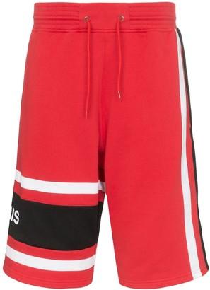 Givenchy basketball style logo shorts