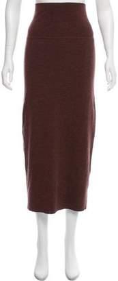 Tome Wool Knee-Length Skirt