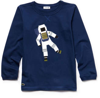 Lacoste (ラコステ) - BOYS 宇宙飛行士Tシャツ (長袖)