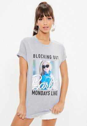 Missguided Barbie x Gray Monday Graphic T-Shirt