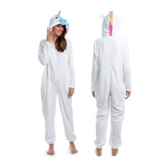Body Candy Womens Fancy Animal Hooded Plush Onesie Critters