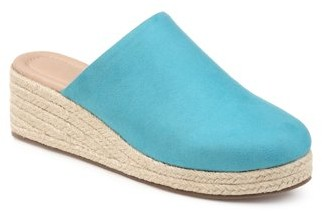 Brinley Co. Womens Comfort Espadrille Mule Wedge