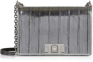 Furla Metallic Leather Mimi S Crossbody Bag