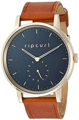 Rip Curl Women's 'Horizon' Quartz Stainless Steel and Leather Sport Watch