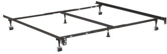 ONLINE Twin / Twin XL / Full / Full XL / Queen / King / California King Metal Bed Frame, Black