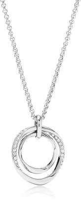 Fossil Twist Pendant Women's Necklace