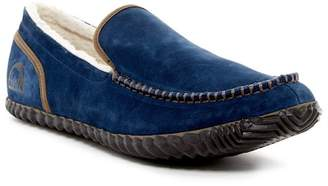 Sorel Dude Moc Faux Fur Lined Slipper