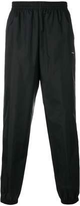Balenciaga logo print jogging pants