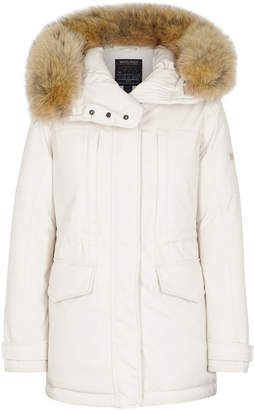 Woolrich Teton Fur-trimmed Shell Jacket