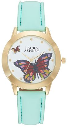 Laura Ashley Women's Butterfly Watch $345 thestylecure.com
