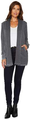 Allen Allen Long Sleeve Open Cardigan Women's Sweater