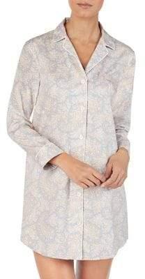 Lauren Ralph Lauren Floral Long-Sleeve Sleepshirt