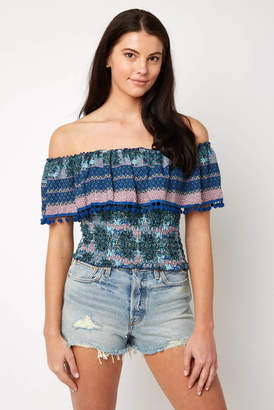 Raga Poetic Dreams Off the Shoulder Top