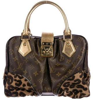 Louis Vuitton Monogram Leopard Adele Satchel