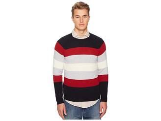 Eleventy Spunia Wide Stripes Sweater Men's Sweater