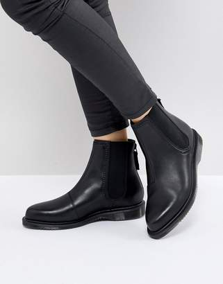 Dr. Martens Zillow Refine Chelsea Boot In Black Leather
