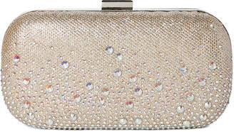 Jessica McClintock Champagne Emme Sparkle Convertible Clutch
