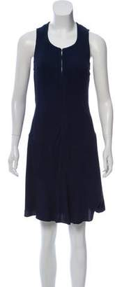 Theyskens' Theory Silk Midi Dress