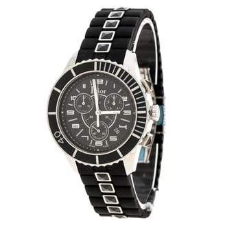 Christal Chronographe Black Steel Watches
