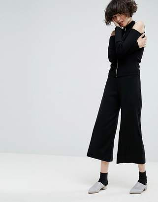 ASOS Knitted Culottes $45 thestylecure.com