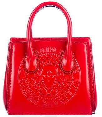 Balmain Embossed Logo Mini Tote Bag
