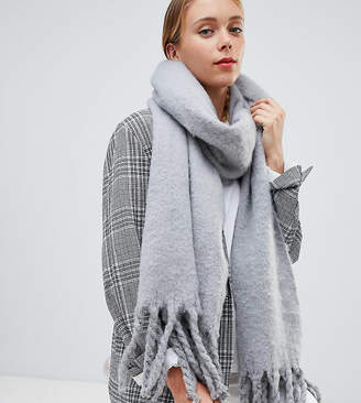 My Accessories light gray super soft extra long scarf