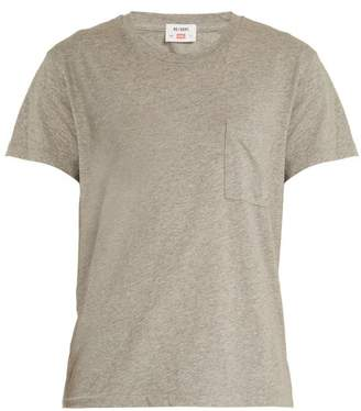 Hanes Re/Done Originals Re/done Originals - X 1970 Boyfriend Cotton T Shirt - Womens - Grey