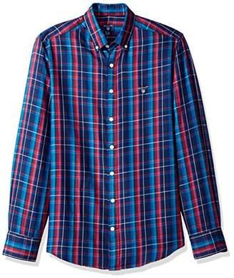 Gant Men's Classic Color Cashmere Check Shirt