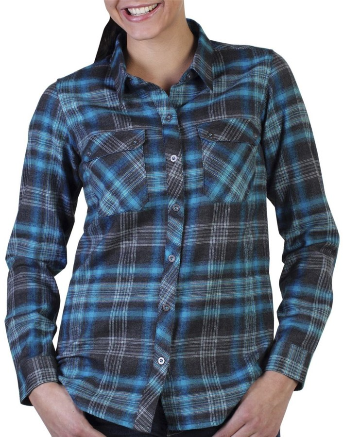 Exofficio Flyway Flannel Plaid Shirt - Long Sleeve (For Women)