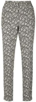 Philosophy di Lorenzo Serafini floral printed cropped trousers