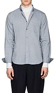 Acne Studios Men's Isherwood Cotton Chambray Button-Down Shirt - Blue