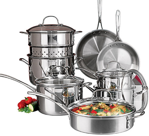 Calphalon Tri-Ply Cookware Set and Open Stock