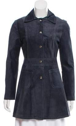 Reformation Suede Short Coat w/ Tags