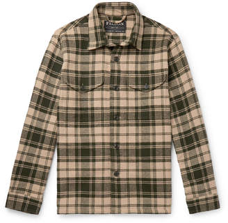 Filson Deer Island Checked Brushed Cotton-Twill Overshirt