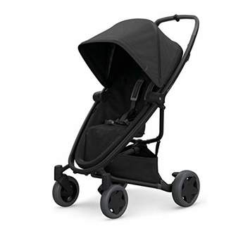 Quinny Zapp Flex Plus Urban Pushchair, Flexible and Compact, Two-Way Reclining Seat, 6 Months to 3.5 Years, Black on Black