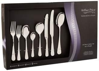 Arthur Price Of England Rattail Cutlery Set