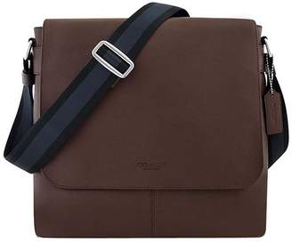 Coach New York Mens Charles Messenger Cross Body Bag, Brown OS