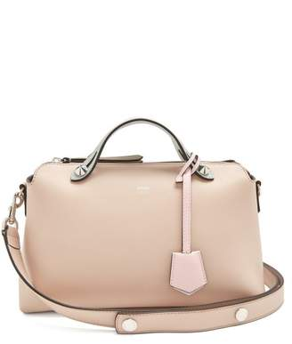 Fendi By The Way Tri Colour Leather Bag - Womens - Light Pink