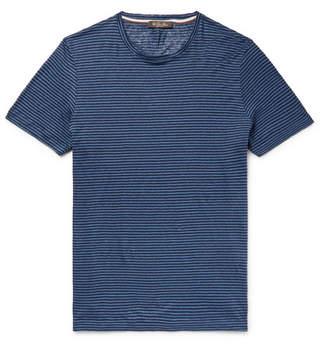Loro Piana Striped Linen T-Shirt