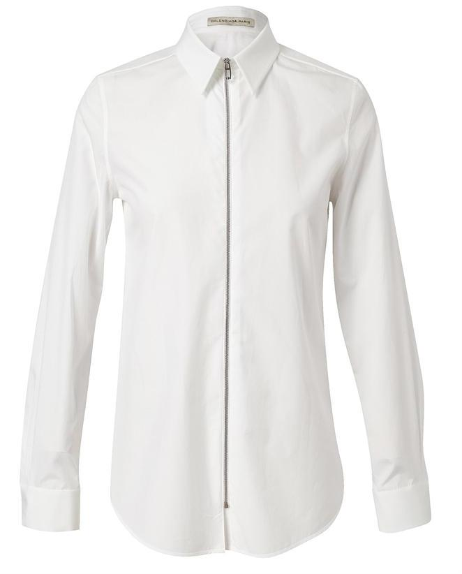 BALENCIAGA Structured Cotton Shirt