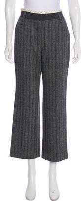 Marc Jacobs Striped Wide-Leg Pants